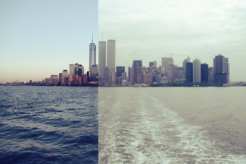 New York Now And Then - Skyline