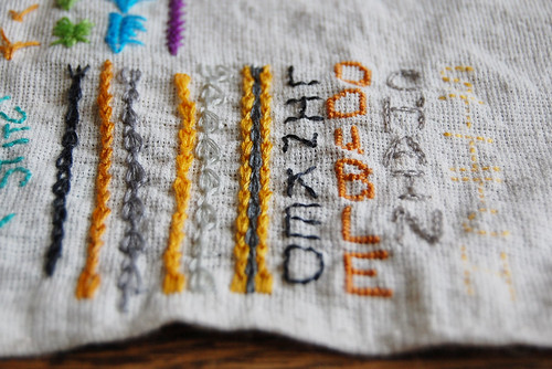 TAST #32 Linked Double Chain Stitch
