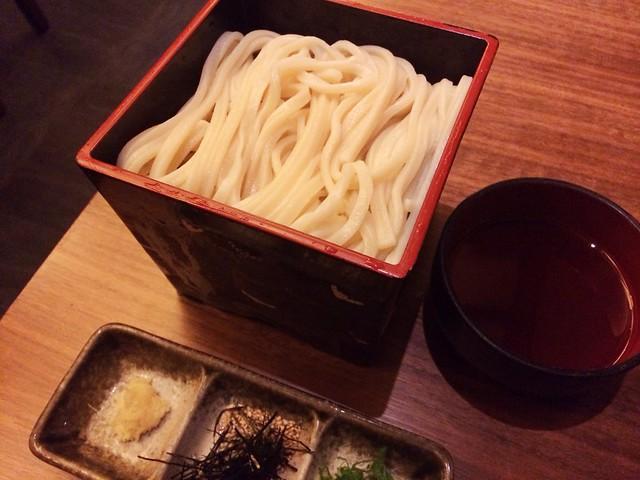 Cold udon, Keyaki, Pan Pacific Hotel