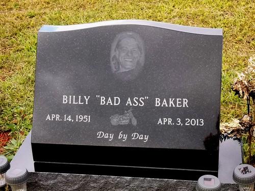 """Billy """"Bad Ass"""" Baker"""