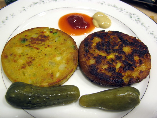 Masala Burger Taste-off