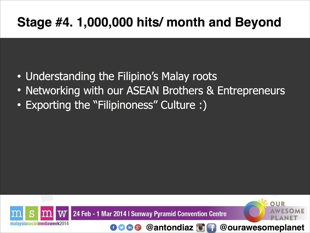 The Road to 1,000,000 Pageviews - The OAP Story MSMW2014 -21