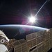 Sun Over Earth (NASA, International Space Station Science, 11:22:09) by NASA Goddard Photo and Video