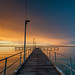 Fishing Pier At Sunset by Duncan Rawlinson. Duncan.co