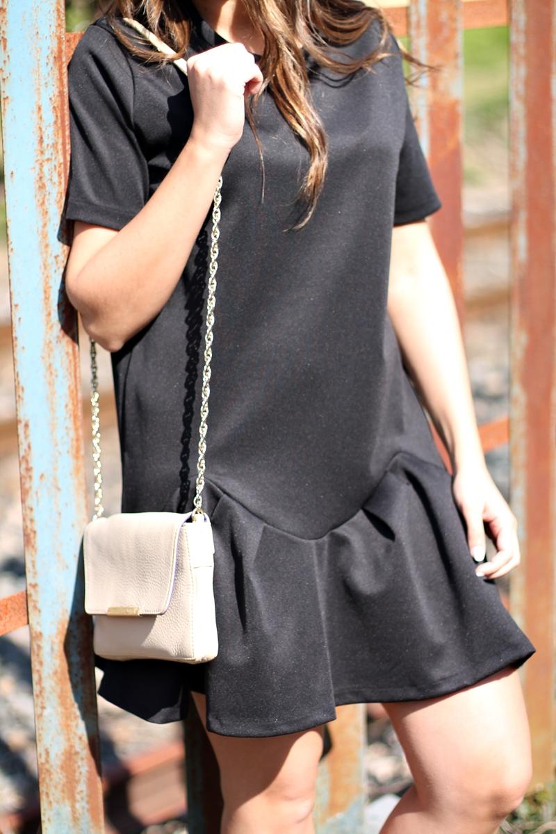 lbd,  vestido negro zara