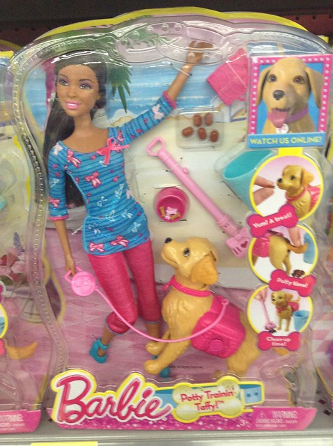 Barbie Pooping Dog Video