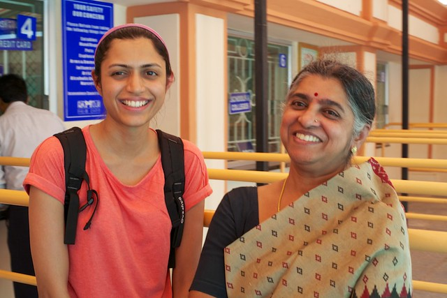Swathi and her mom