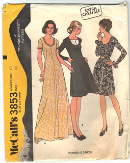 McCall's 3853 Women's Dress Pattern