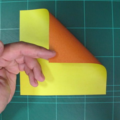 วิธีพับกระดาษเป็นรูปนกยูง (Origami Peacock - ピーコックの折り紙) 000