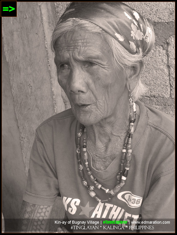 Kalinga tattooed Women