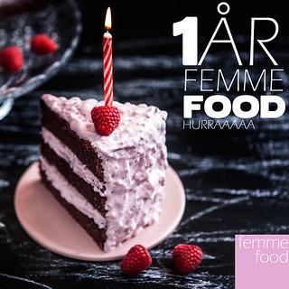 Femme Food 1 år