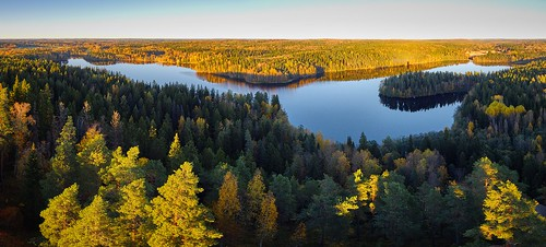 panorama sunset landscape nature peaceful lake background beautiful sunsetlandscape panoramalandscape forest outdoor sunlight summer panoramic travel sky water environment green clear calm natural autumn north reflection tranquil light destination serene blue scenery majestic evening idyllic fall sunny trees artistic dawn park dramatic banner europe scenic nordic finland weather calmwater aerialview