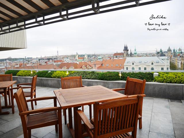 布拉格夜景景觀餐廳推薦洲際酒店晚餐 (16)