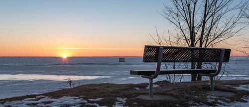 Lake Winnebago littered with fishing shacks for Sturgeon Fishing season