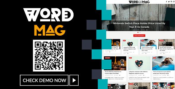 WordMag WordPress Theme free download