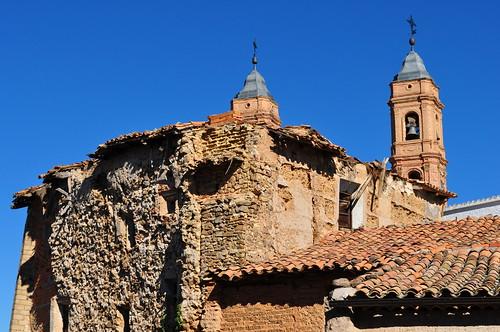 La dureté des temps, Munébrega, communauté de Calatayud, province de Saragosse, Aragon, Espagne.