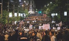 Protest Beograd April 2017