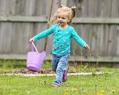 Zoey Grace Easter Egg Hunt 2017