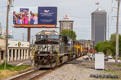 NS 7630 | GE ES44DC | NS Memphis District