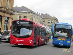 Harrogate Bus Co 1837 H16ESU Station Parade, Harrogate on 1C (1280x960)