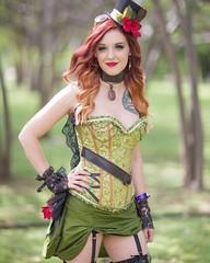 #steampunkpoisonivy @fanexpohq #fanexpodallas #steampunk #steampunkcosplay #poisonivy #poisonivycosplay #fanexpodallas2017 #fanexpo #fanexpodallascosplay #cosplay #cosplayer #cosplays #cosplayers #cosplaying #cosplayphotography #cosplayphoto #cosplayphoto