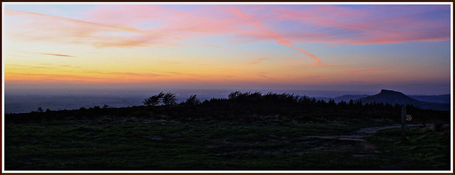 Sunset from Easby.