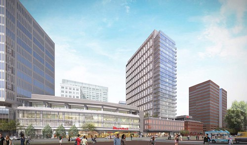 MIT Kendall Square Initiative Renderings