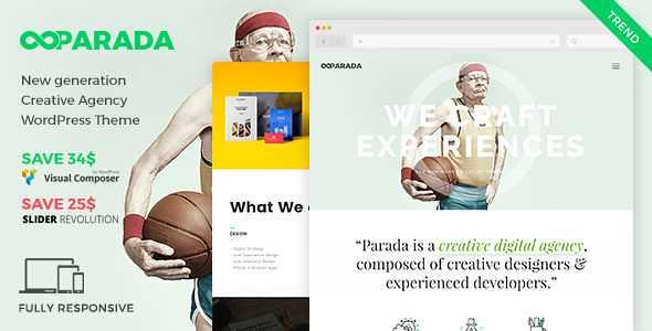 Parada WordPress Theme free download