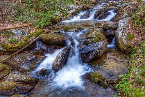 6d canon canon6d helen northgeorgia forest water softflow scene landscape anarubyfalls waterfalls sauteenacoochee georgia unitedstates