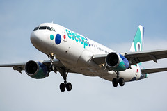 EC-LZD Airbus A320-214(WL) Evelop Airlines