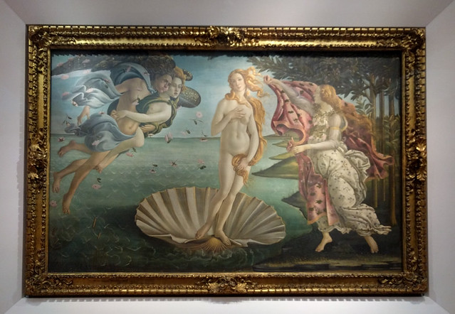 Birth of Venus @ Uffizi Gallery