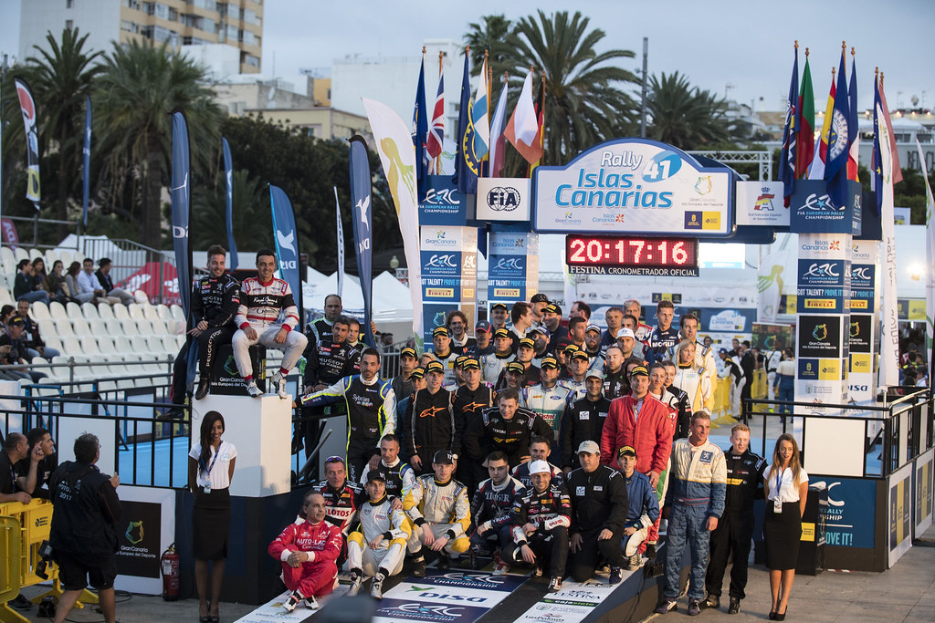 ERC ambiance  during the 2017 European Rally Championship ERC Rally Islas Canarias, El Corte Inglés,  from May 4 to 6, at Las Palmas, Spain - Photo Gregory Lenormand / DPPI