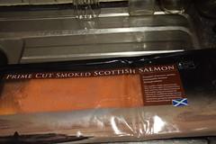DSC_9804 Smoked Salmon from Billingsgate Fish Market, Scotch Smoked Salmon Co Ltd, was NOT up to standard