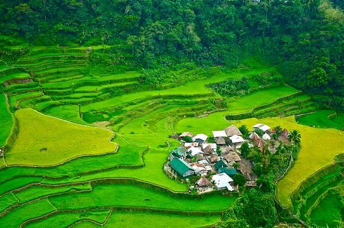 Rice Terraces & Bangaan Village, Philippines