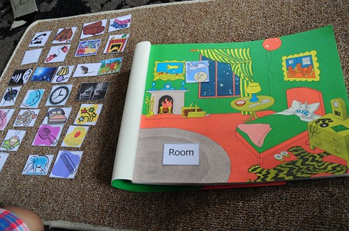 Goodnight Moon Book and Picture Matching (Photo from The Pinay Homeschooler)