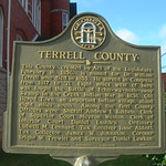 Terrell County Historic Marker