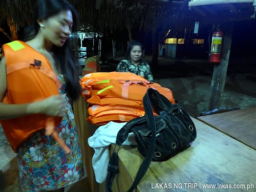 Life vests are required for the Iwahig Firefly Watching in Puerto Princesa City, Palawan