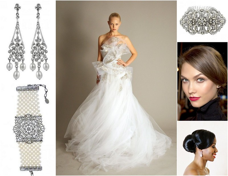 Glamorous and Fabulous Bridal Style! {Inspiration}