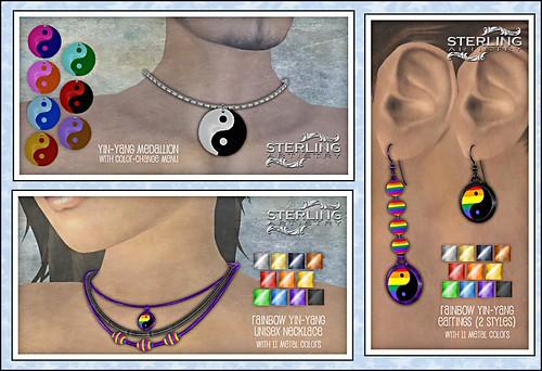 Yin-Yang jewelry