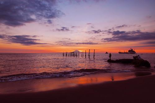 sunset indonesia lombok tinghay