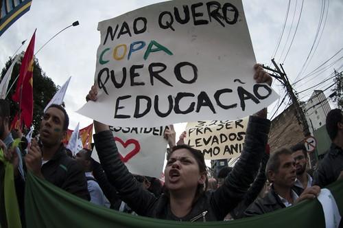 Soziale Proteste in Brasilien 2013: