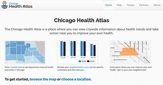 Chicago Health Atlas Homepage, June 2013 Launch