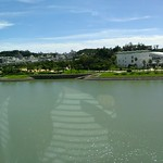 130615 Okinawa Riding the monorail