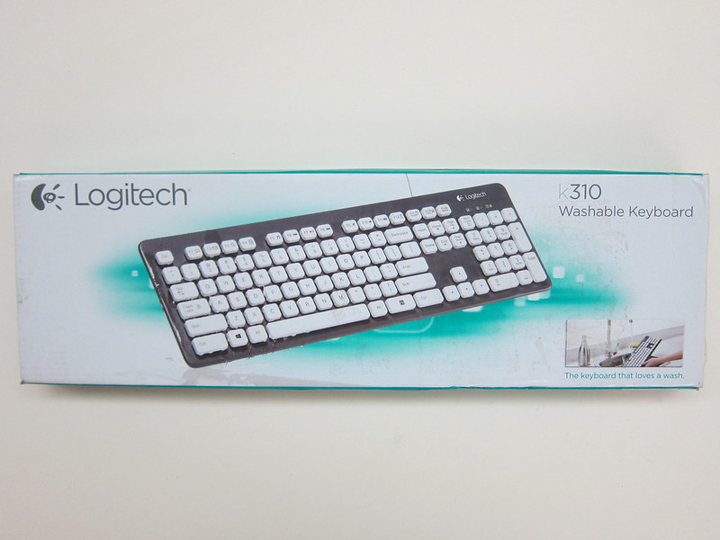 Logitech K310 Washable Keyboard - Box Front