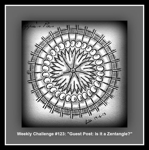 "Weekly Challenge #123: ""Guest Post: Is it a Zentangle?"" by Poppie_60"