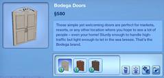 Bodega Doors