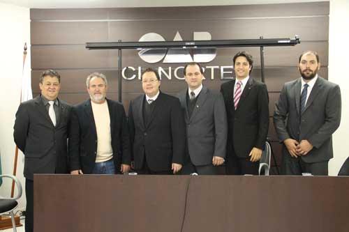 Presidente da OAB-PR participa de evento em Cianorte