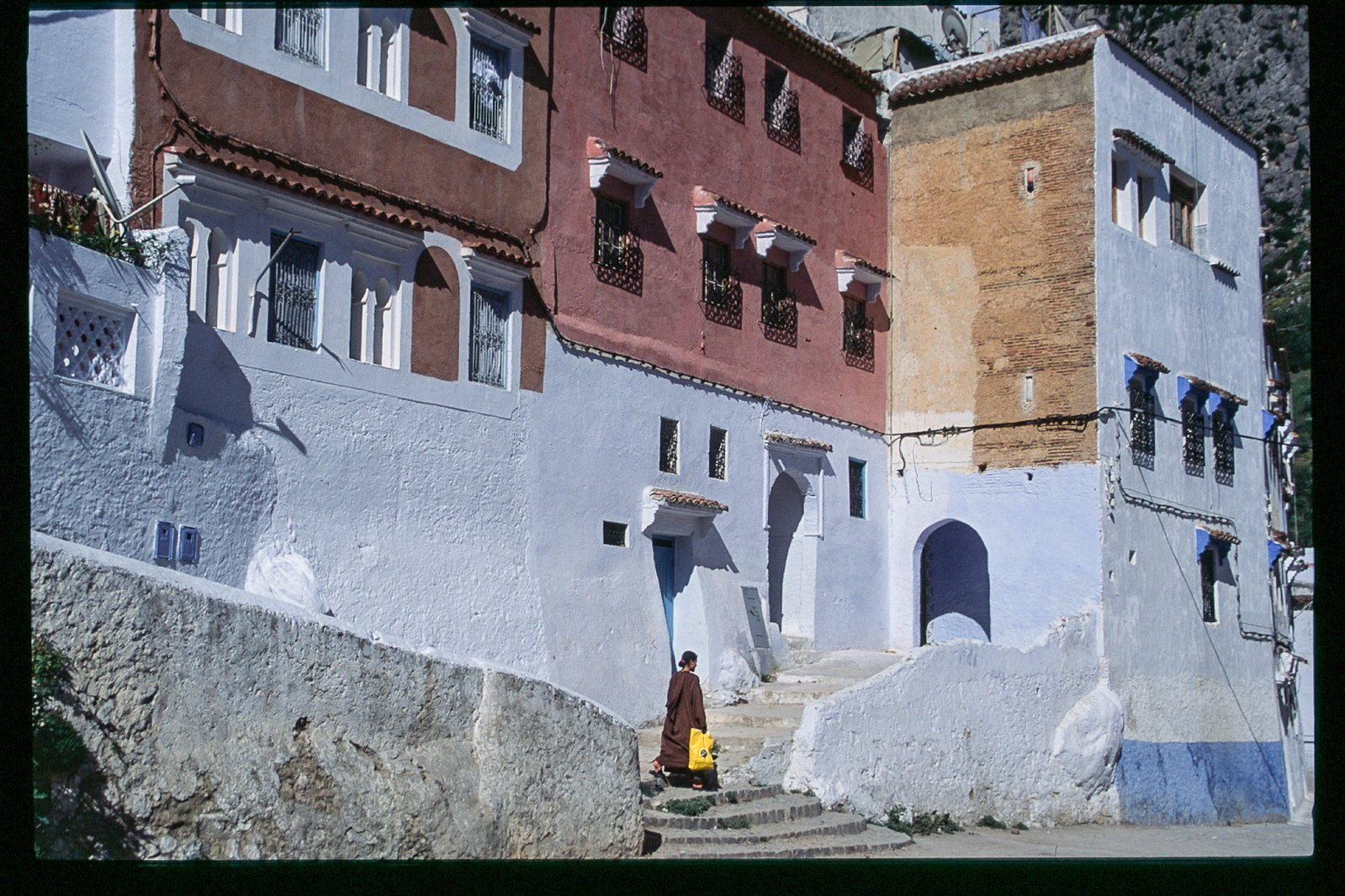 Chefchaouen - Du soleil sur les murs