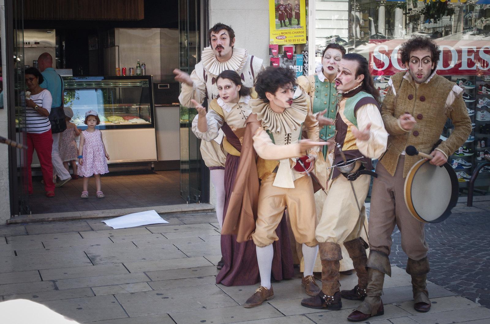 Festival d'Avignon - Shakespeare dans la rue