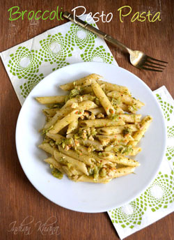 Broccoli Pesto Pasta Pasta Recipes